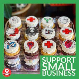 Shop Local Cupcake Marketing